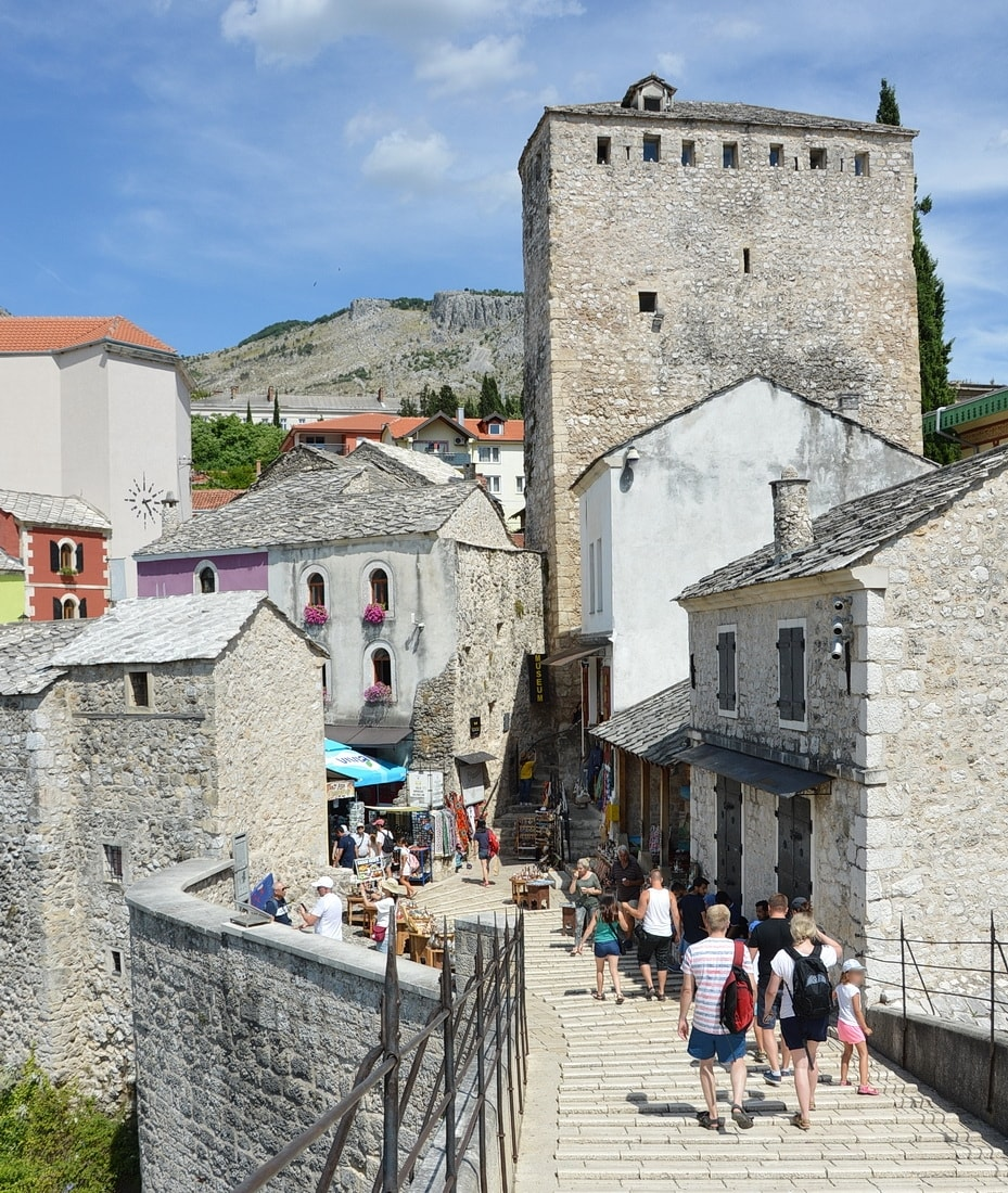 Historic buildings of Mostar
