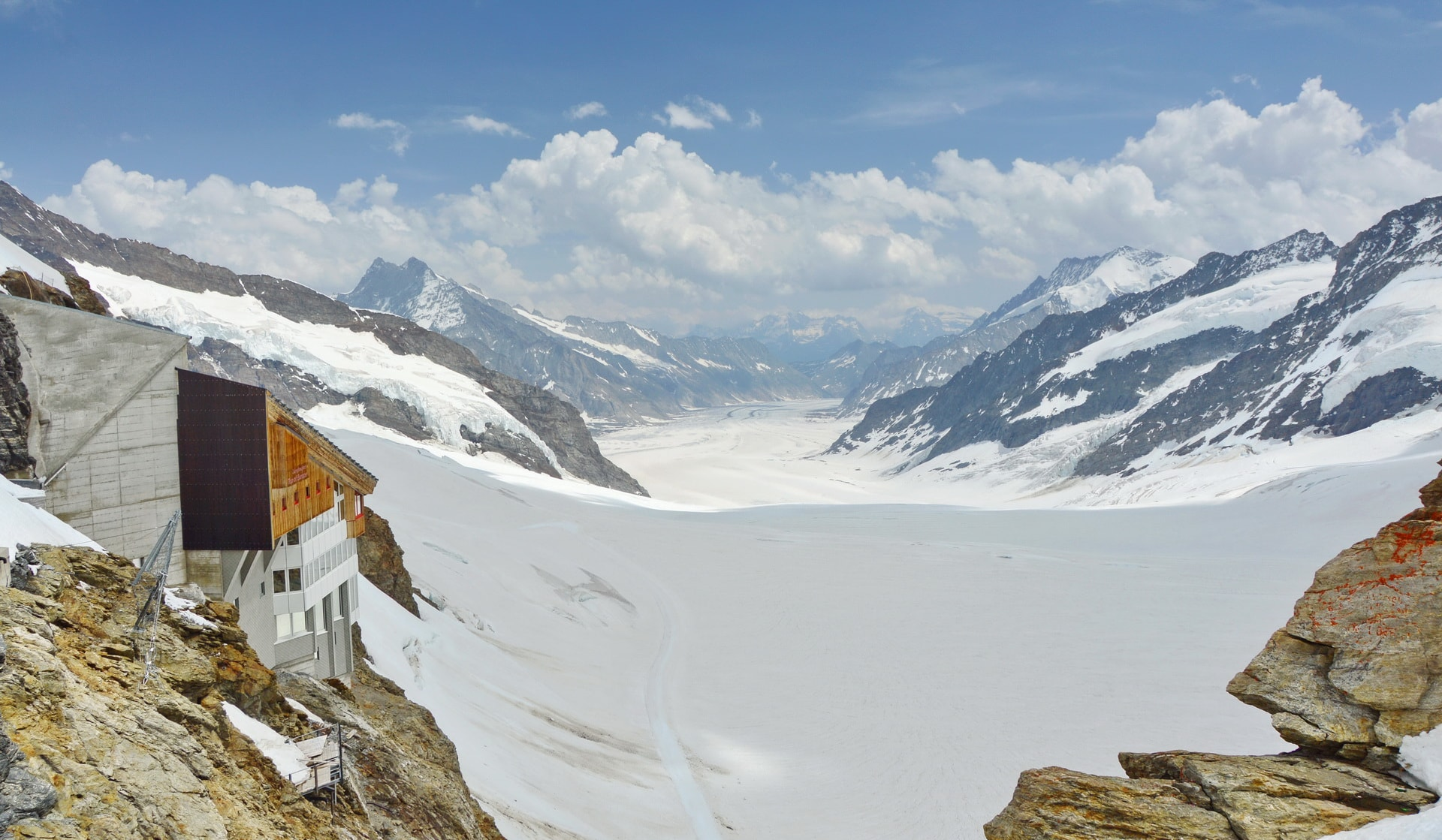 The Great Aletsch Glacier