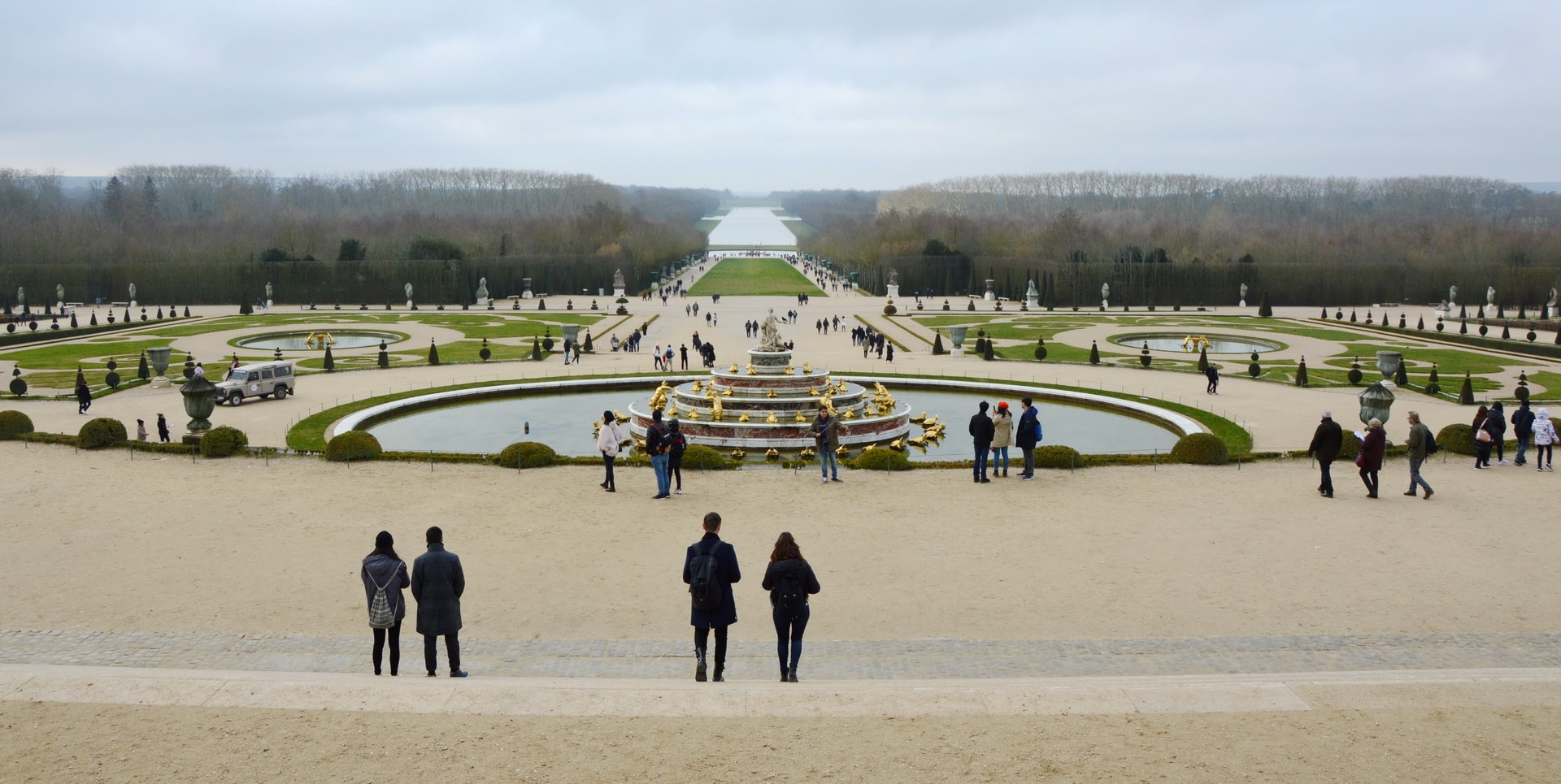 Gardens of the Versailles Palace