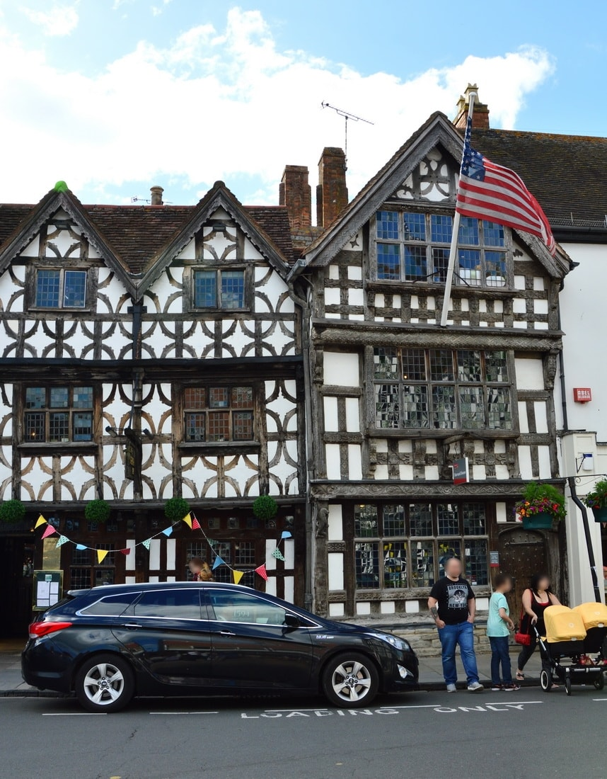 Typical English timber architecture