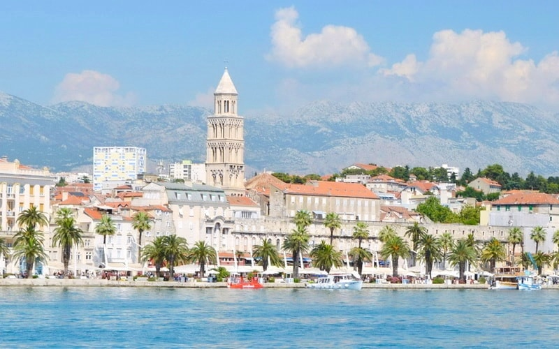 Through The Narrow Streets Of Ancient Split
