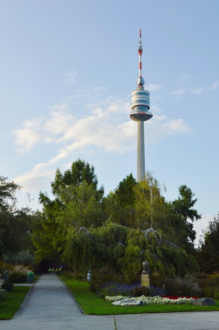 The 252-metre-high Donauturm Tower offers great views of the city and surroundings