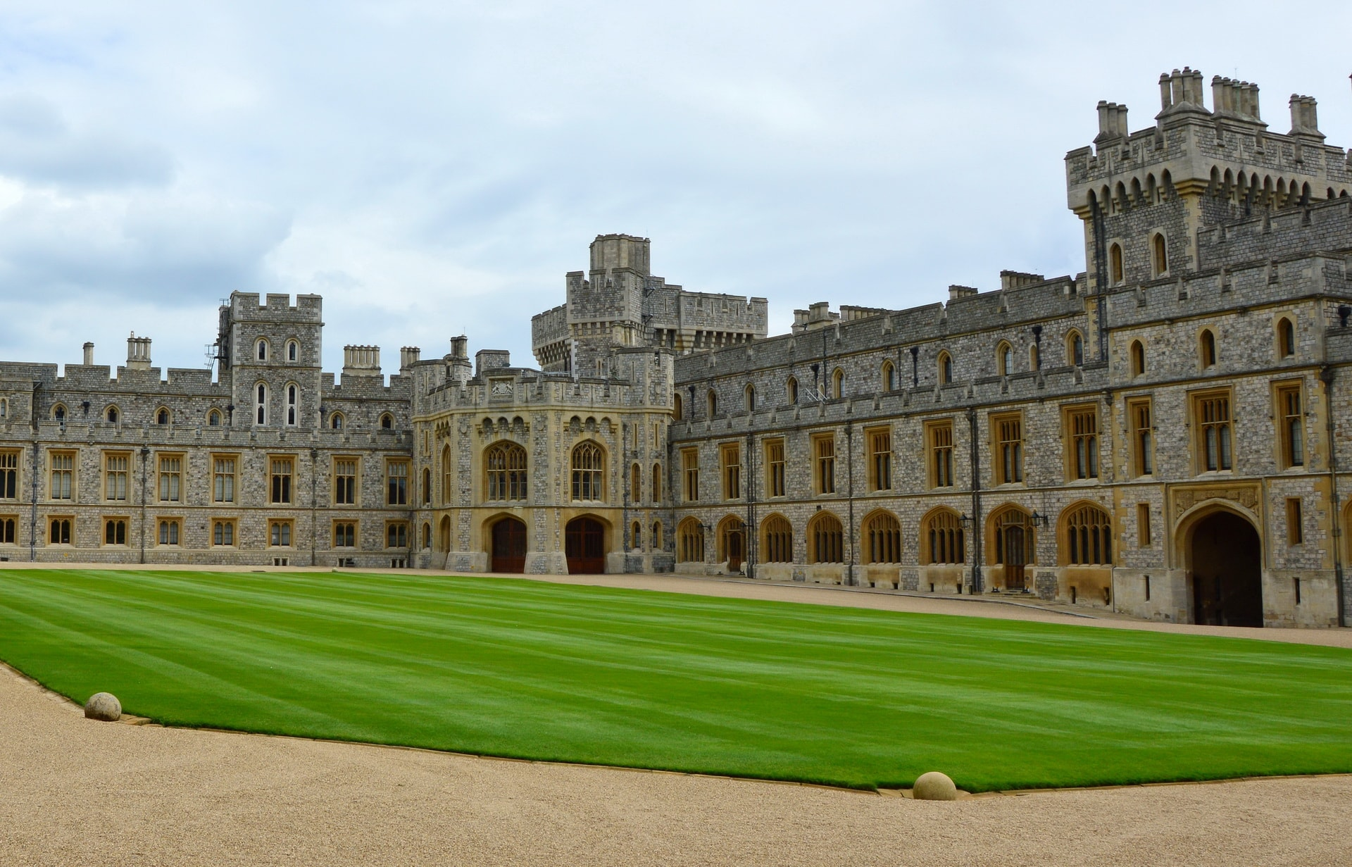 Visitor apartments at Windsor Castle