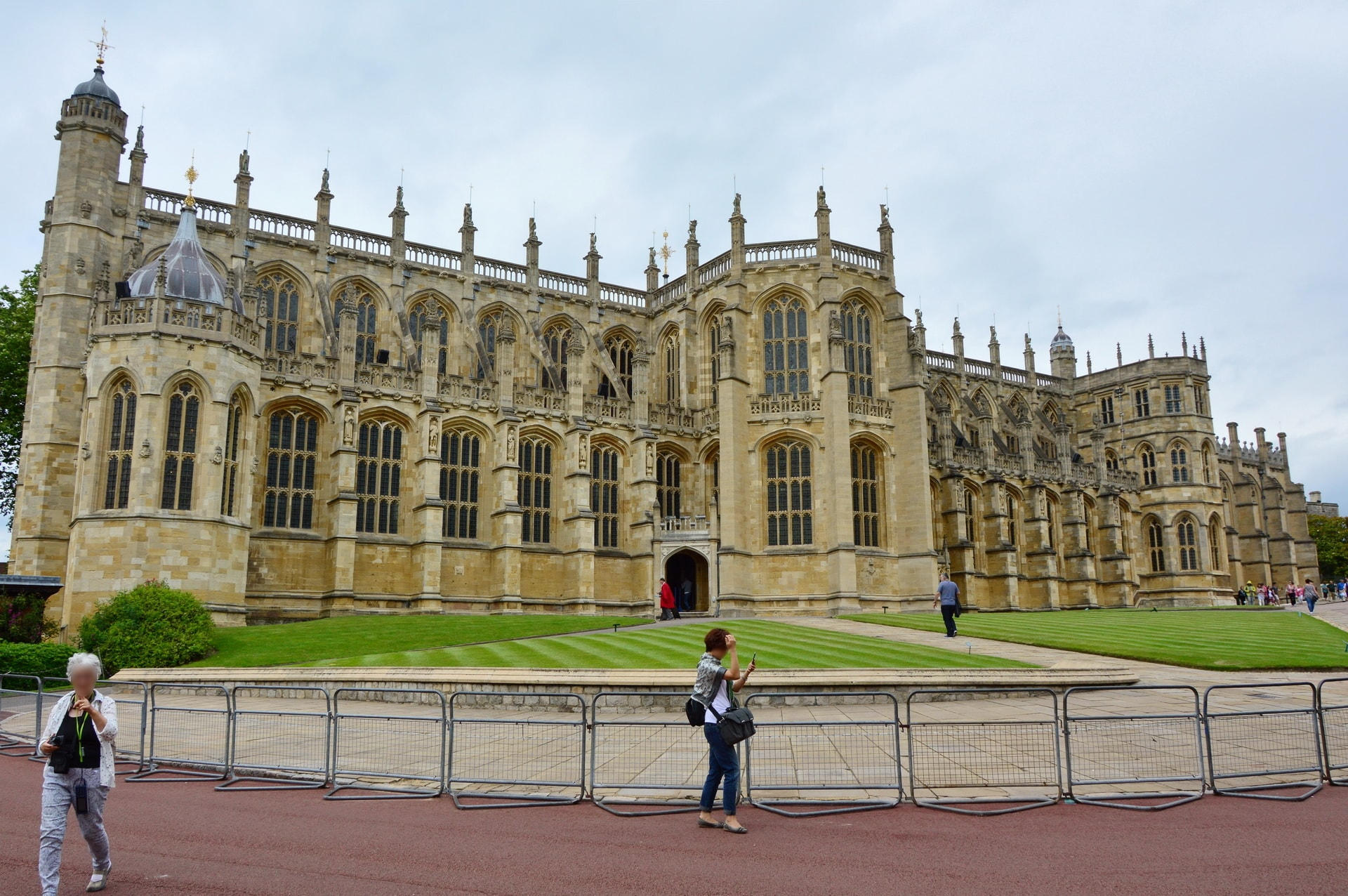 St. George's Chapel is a popular wedding place among British monarchs
