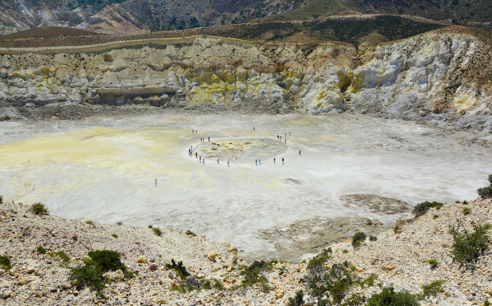 Stefanos Crater in the heart of Nisyros