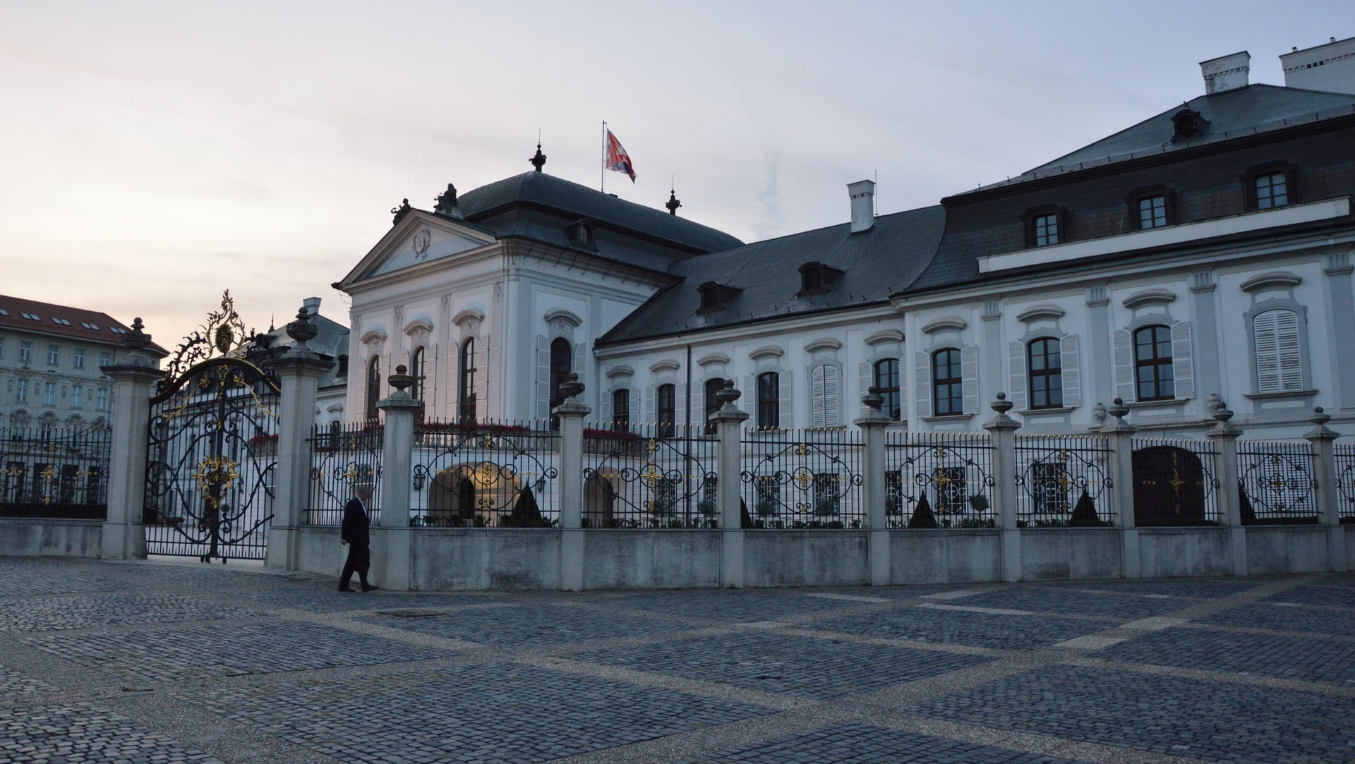 Grassalkovich Palace is the residence of the President of the Slovak Republic